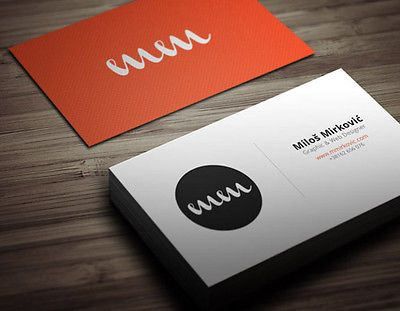 Full Colour Double Sided Business Cards Printed On 400gsm Premium Quality Silk Printing Name Card Design Printing Business Cards Business Card Inspiration