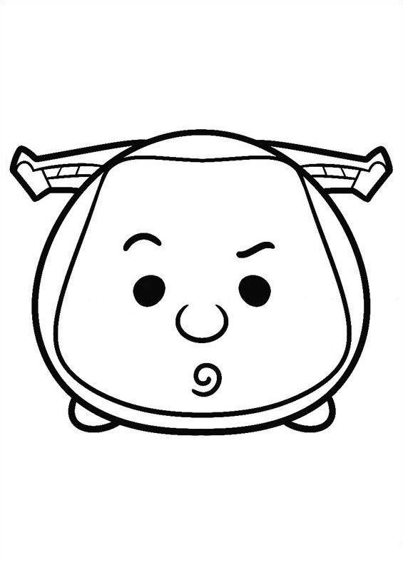 Disney tsum tsum para colorear buzz lightyear colorear for Black hole coloring page