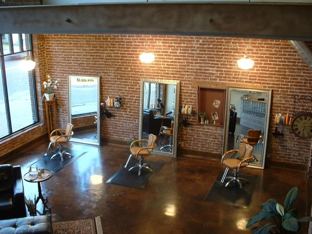 The Garage Salon Salon Interior Design Salon Decor Hair Salon Interior