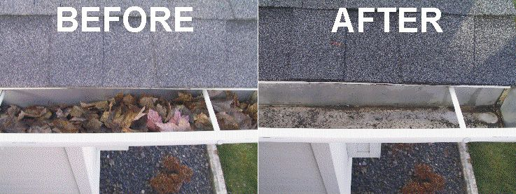 New York And Surrounding Suburb Homeowners Can Expect Exceptional Service From Ned Stevens Gutter Cleaning And Their Over Cleaning Gutters Gutter Repair Gutter