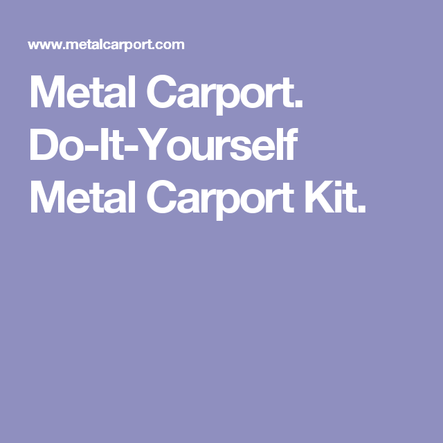 Metal carport do it yourself metal carport kit carport myron metal carport do it yourself metal carport kit solutioingenieria Images