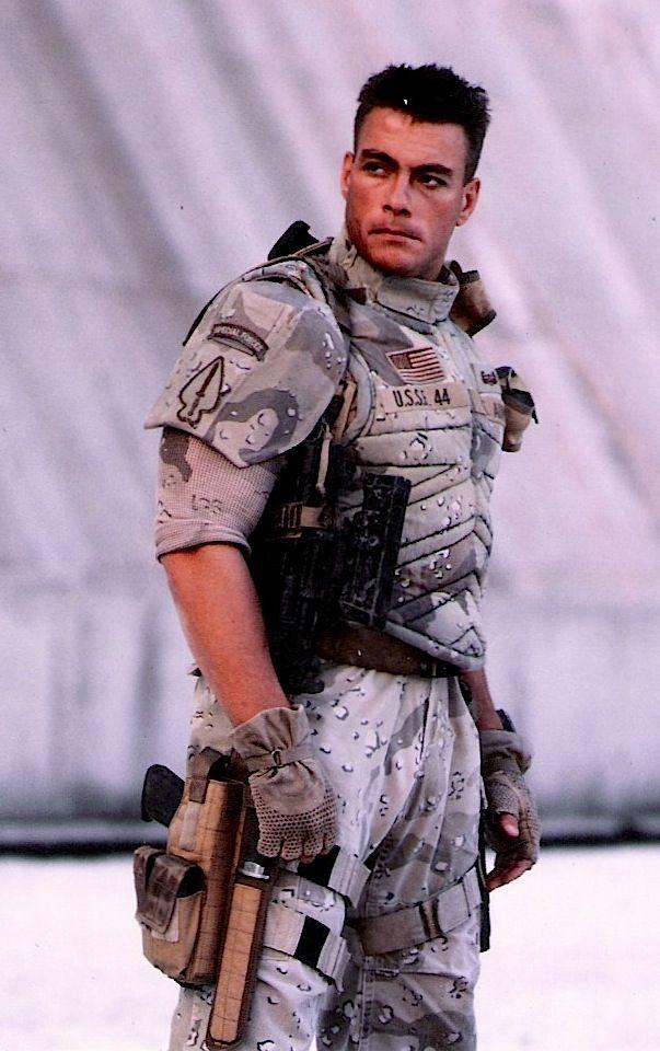 Universal Soldier. Jean Claude Van Damme in full costume ...