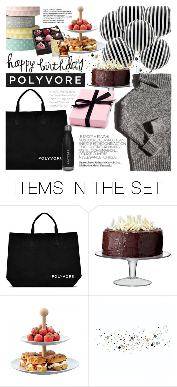 """""""Happy Birthday, POLYVORE !"""" by dian-lado ❤ liked on Polyvore featuring art, contestentry and happybirthdaypolyvore"""