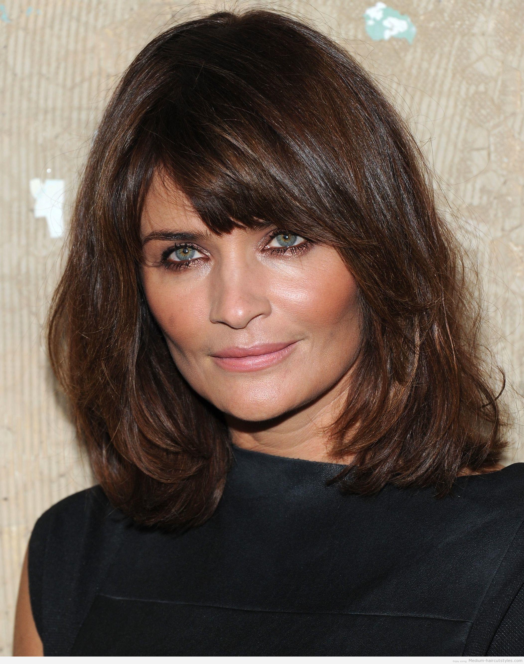 medium short hairstyles 2014 women is the best hairstyle
