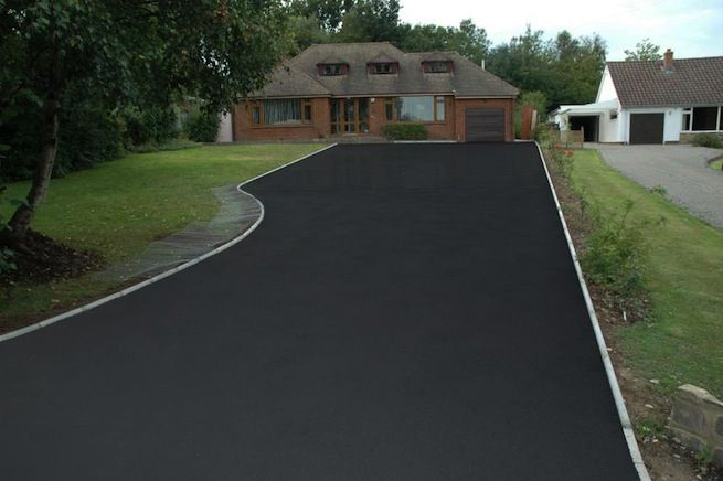 How To Choose The Best Sealer For Your Driveway Stained Concrete Driveway Asphalt Driveway Concrete Driveways