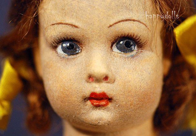 Lenci Doll's face ~