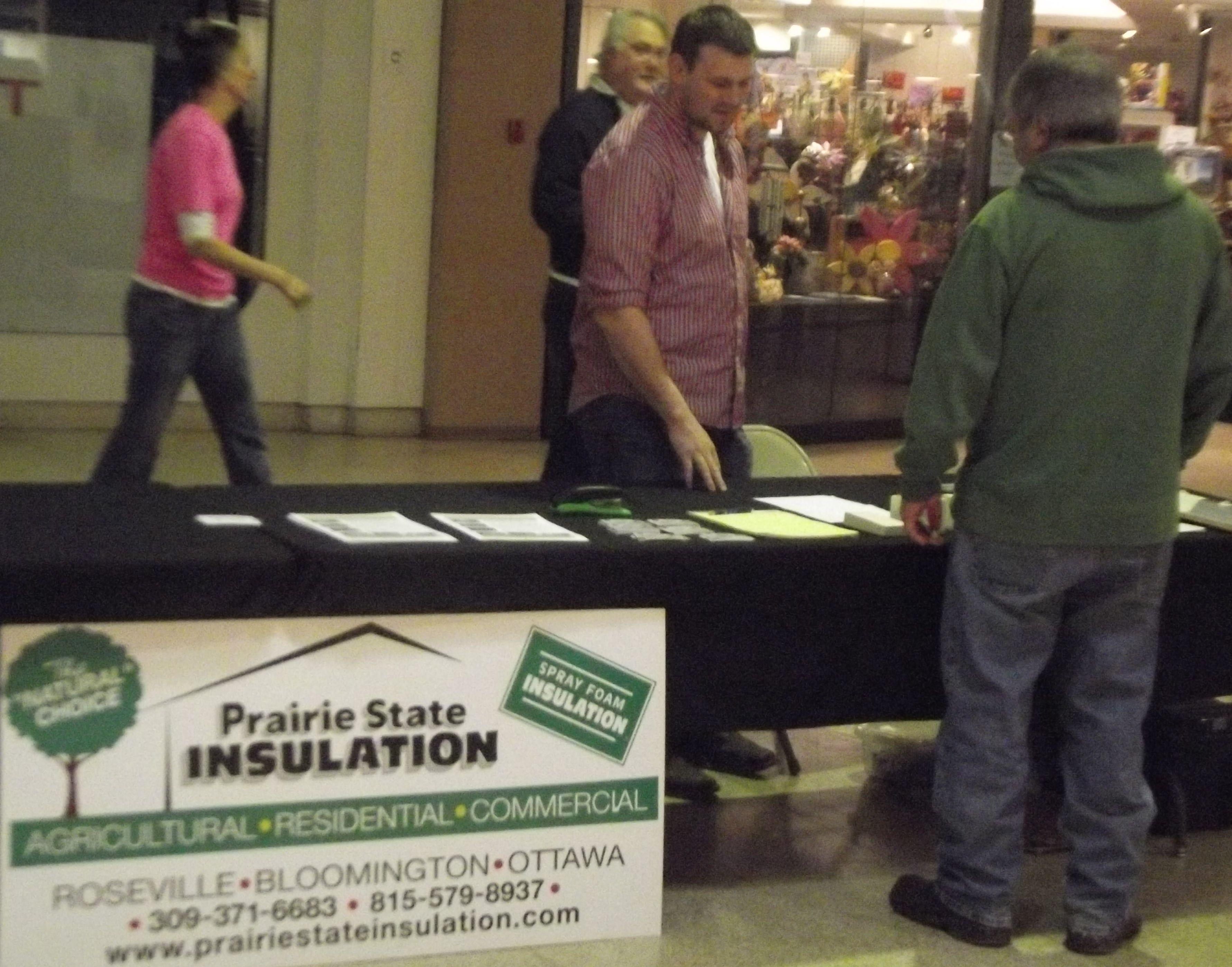 Prairie State Insulation 309 371 6683 Galesburg Insulation Roseville