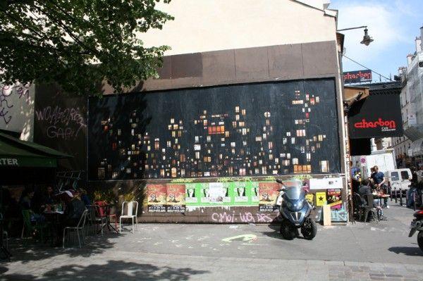 Anne-Laure Maison, tableaux d'intimité - affichage au M.U.R