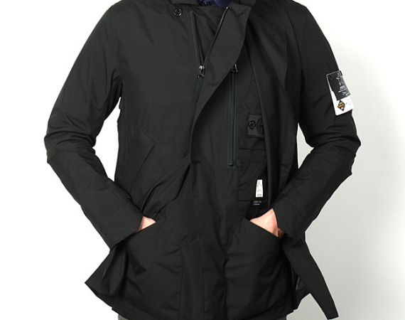 39d2eb4e846717 Stone Island Shadow Project - Gore-Tex Paclite Stealth Trench Coat ...
