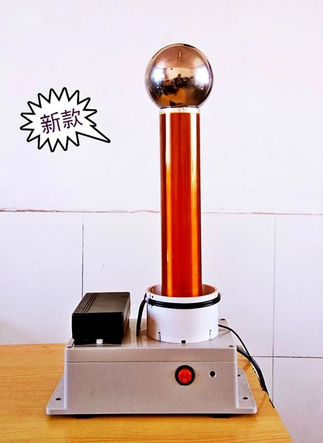 Tesla Coil Desktop Level Integrated Solid State