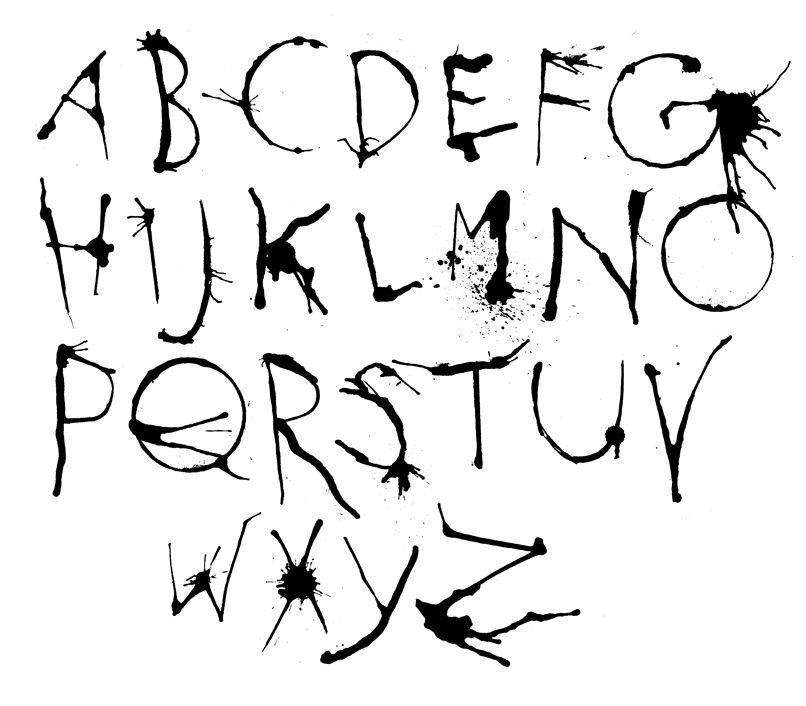 Alphabet Letters Font  Reference  Fonts    Letter