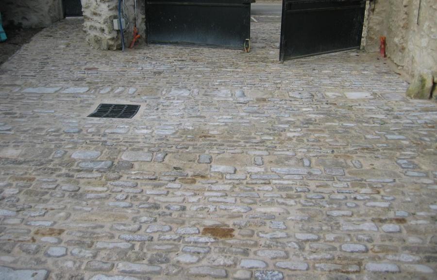 Pavage, pavés calcaire Pavé ancien / Antique Cobbles Pinterest