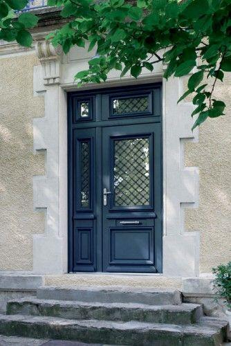 ath na porte d 39 entr e aluminium classique mi vitr e porte d 39 entr e pinterest doors. Black Bedroom Furniture Sets. Home Design Ideas
