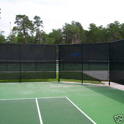 Standard Tennis Court Privacy Windbreak Netting Surround Screen 50m 100m Rolls Other Tennis Tennis Tennis Court Garden Netting Tennis