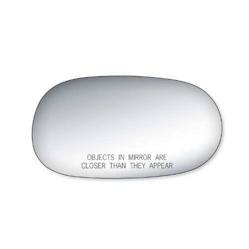 Fit System 90123 Toyota Corolla Passenger Side Replacement Mirror Glass Glass Fit Toyota Corolla Passenger