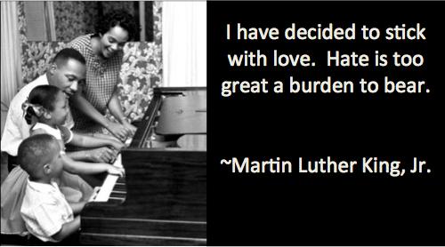 Love not Hate MLK