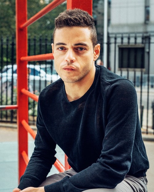 """""""I microwave all my electronics now. I've had to buy three new computers since [Mr. Robot] started."""" - Rami Malek for Buzzfeed News (2015)"""