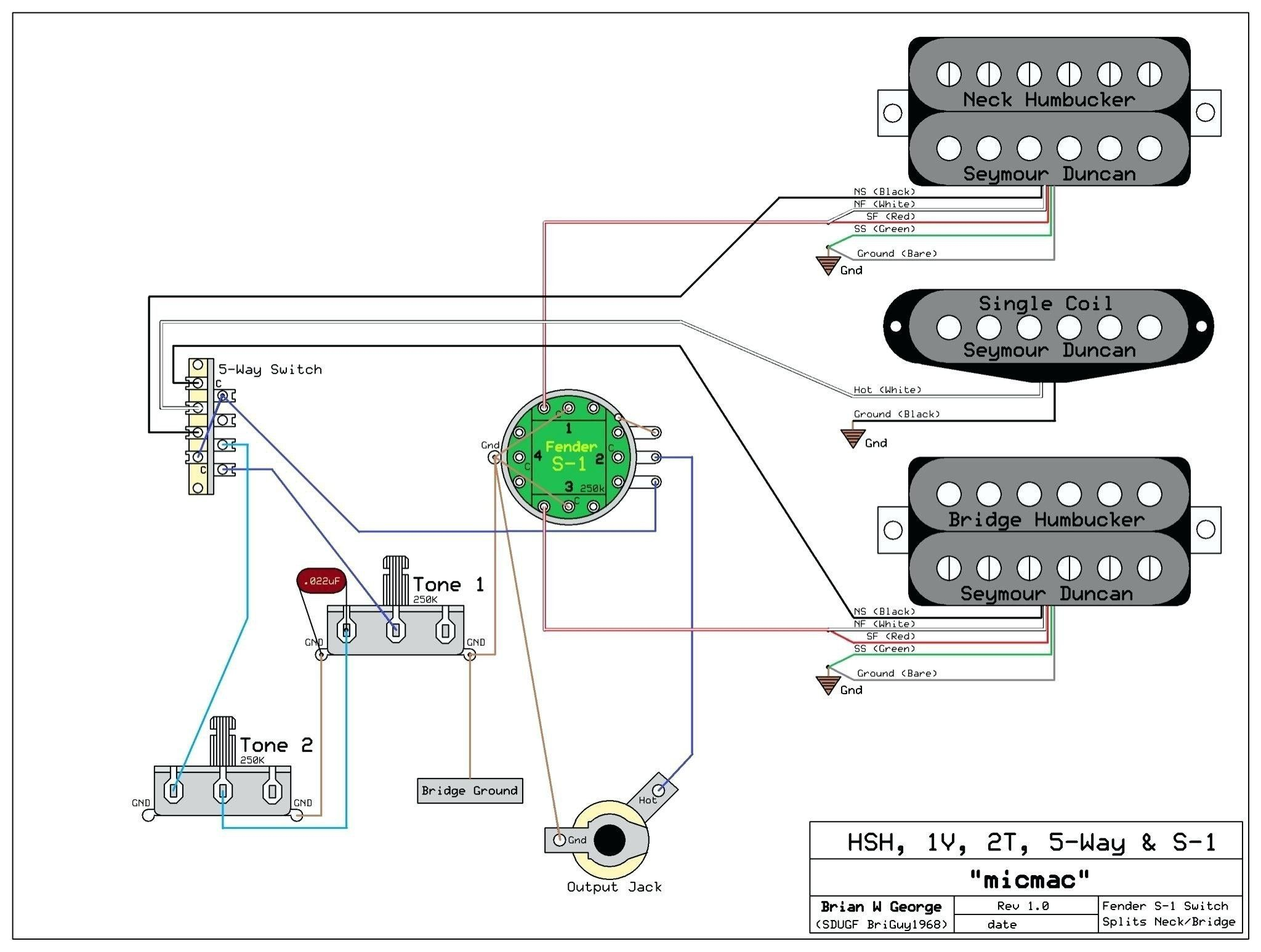 New Guitar Wiring Diagram Single Pickup