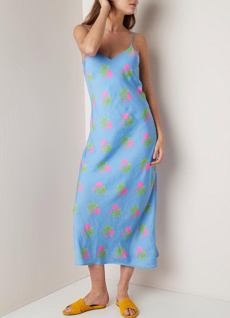 5ba3857c700a4a ESSENTIEL ANTWERP Serenity slipdress met bloemendessin • de Bijenkorf   damesmode  jurken
