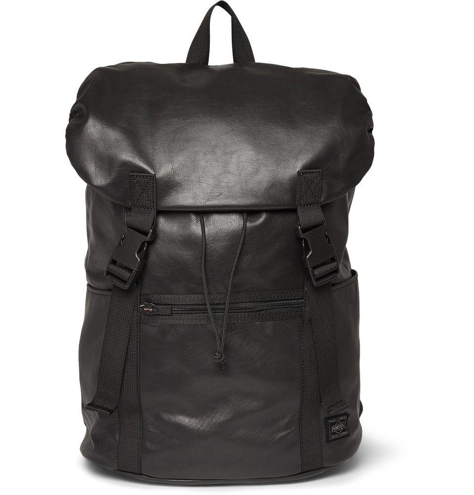 05238a4b6b Porter-Yoshida   Co - Aloof Leather Backpack