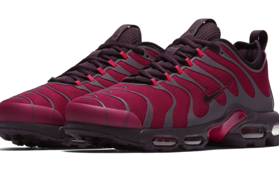 99b8e176a5 Official Look At The Nike Air Max Plus TN Ultra Burgundy | Nike ...