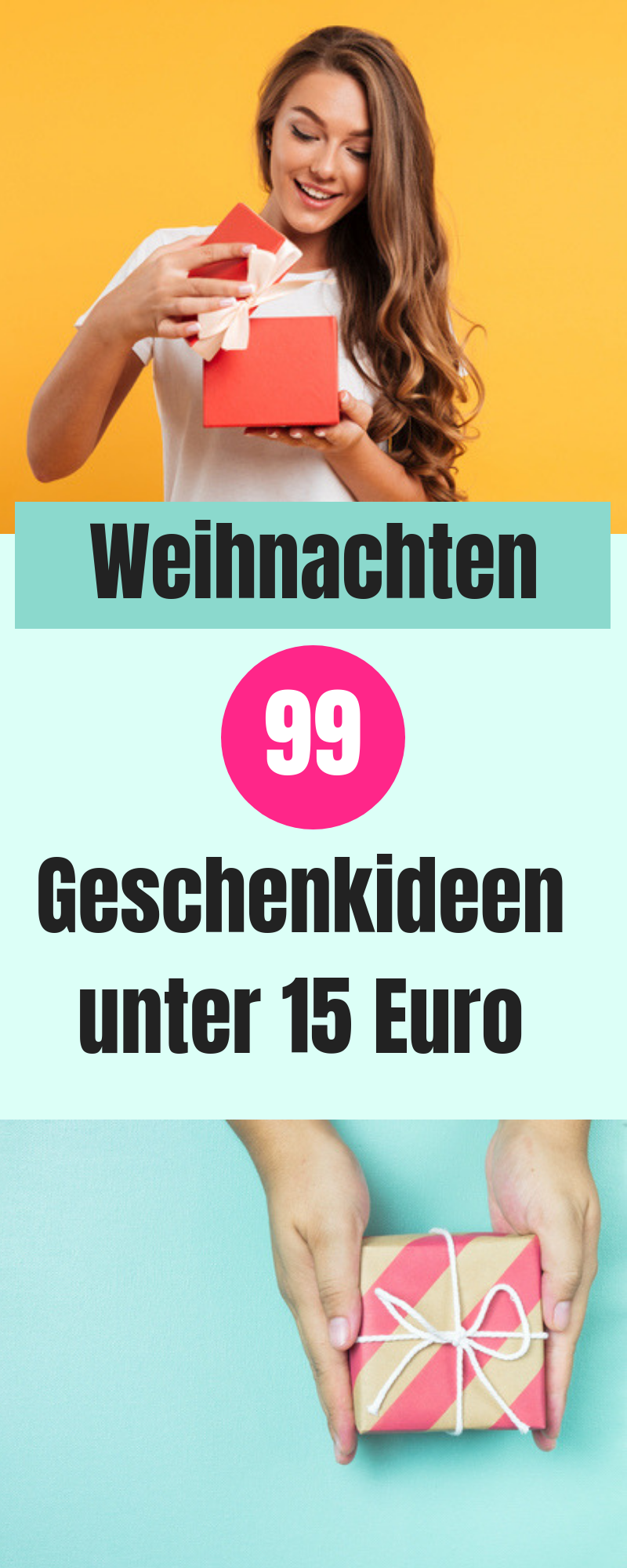 Weihnachtsgeschenke unter 15 Euro - günstig und auch zum Wichteln geeignet #weihnachtsgeschenkeeltern