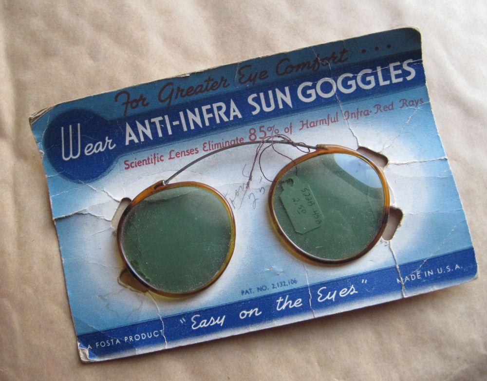 anti-infra sun goggles