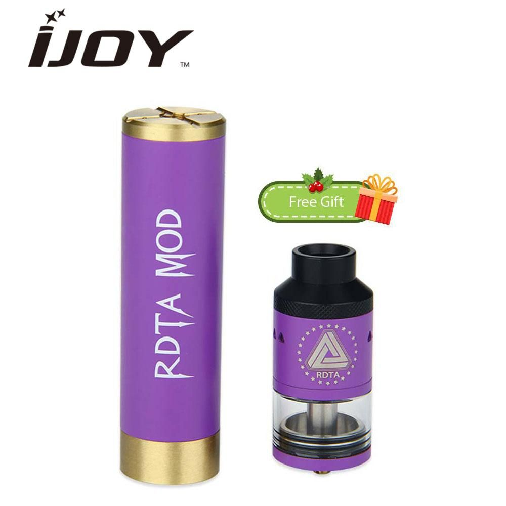 Original Ijoy Rdta Mod Full Kit With Limitless Classic E Cig Wiring Diagram Free Picture Edition Tank 69ml Atomizer Mechanical Imc 8 Build Deck