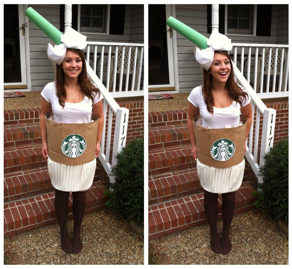 Coffee Cup Outfit My Official Halloween Costume This Year