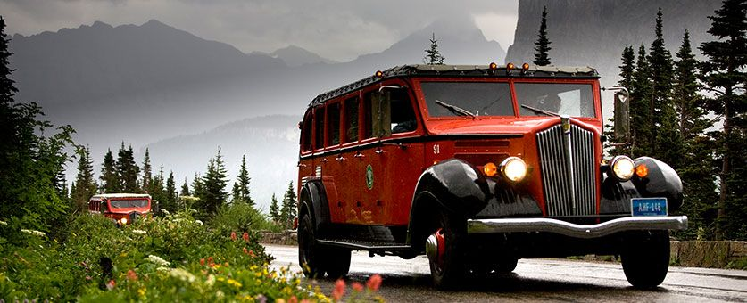 Jammer buses glacier national park   Best ways to back up your photos - The Status Update Podcast