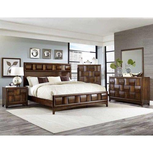 Homelegance - Porter 5 Piece Eastern King Bedroom Set - 1852K-1EK-5