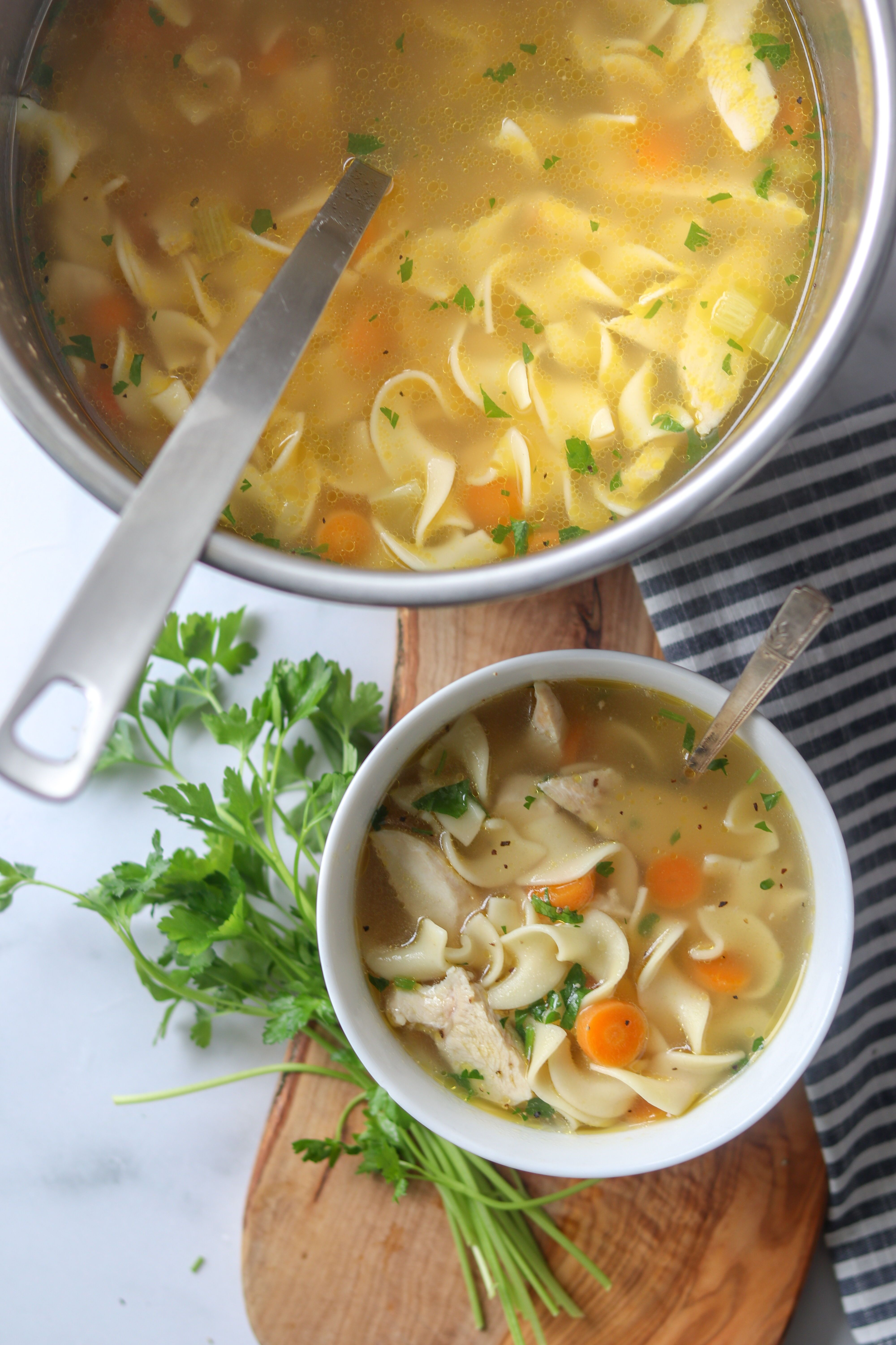 simple pressure cooker chicken noodle soup ina garten