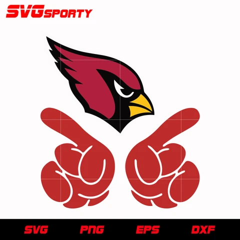 Arizona Cardinals No 1 Svg Nfl Svg Eps Dxf Png Digital File Arizona Cardinals Arizona Cardinals Football Arizona Cardinals Logo