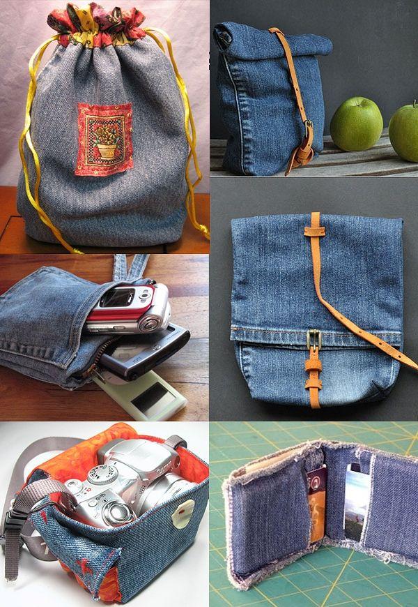 Поделки и украшения из старых джинсов своими руками: мастер класс