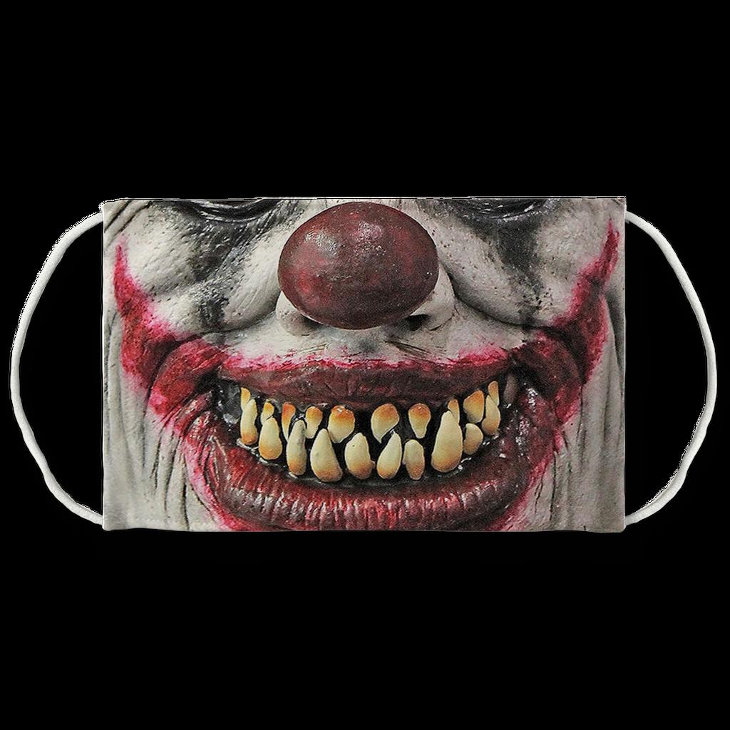 Pointy Teeth Face Mask Scary Clown Face Scary Clowns Clown Faces