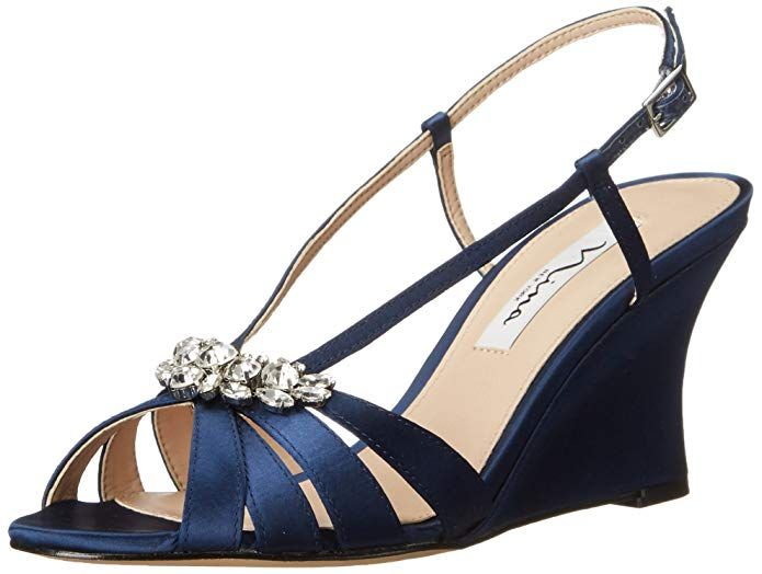 87e24e734324c Amazon.com | Nina Women's Viani Wedge Sandal | Platforms & Wedges ...
