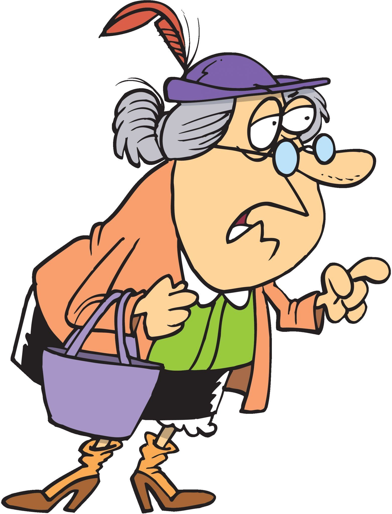 Do You Dress Up For Halloween Cartoon People Old Lady Cartoon Cartoon