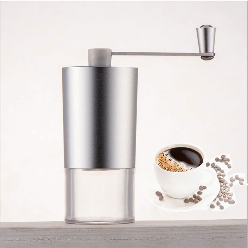 7.07$ (More info here: http://www.daitingtoday.com/stainless-steel-silver-hand-manual-handmade-coffee-bean-grinder-mill-kitchen-grinding-tool ) Stainless Steel Silver Hand Manual Handmade Coffee Bean Grinder Mill Kitchen Grinding Tool for just 7.07$