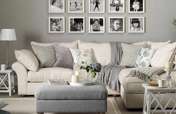 Wandgestaltung Wohnzimmer - 20 kreative Wanddeko Ideen   Home ...