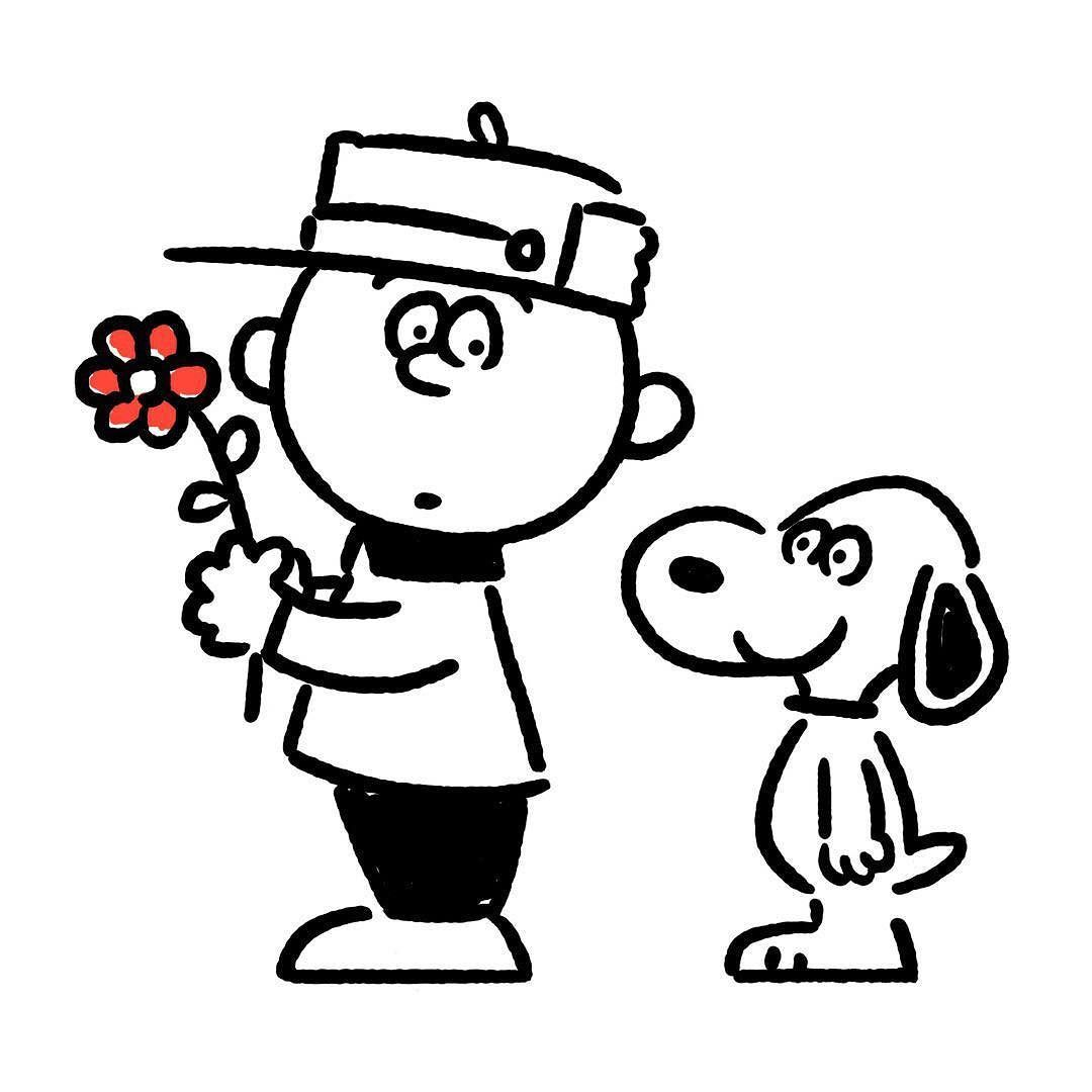 snoopy #charliebrown #flower   Snoopy   Pinterest   Animales y Frases