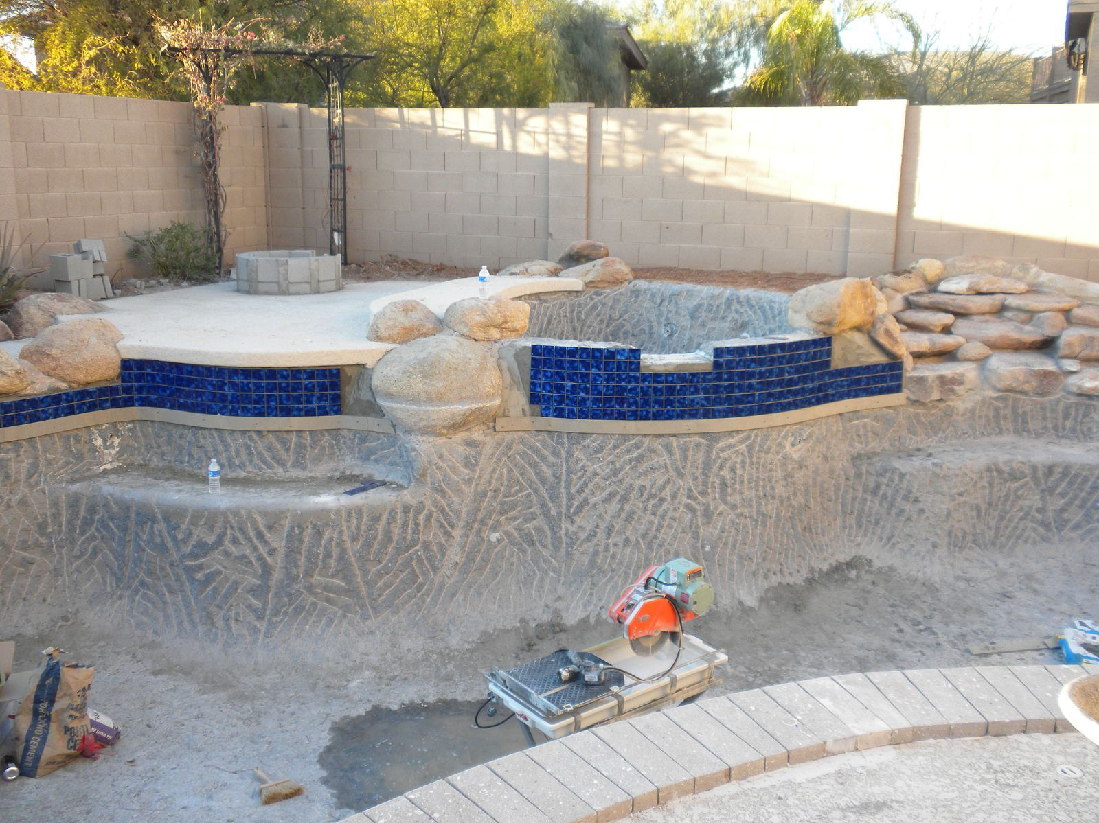 Pool Waterline Tile Ideas pool tile for sale surprising on home furnishing ideas small 34 mosaic waterline tile 2 Pool Remodel Week 1