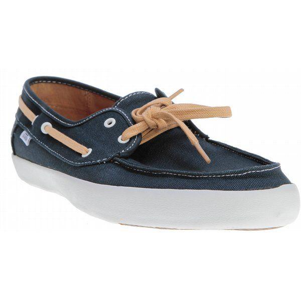 vans chauffeur chaussures navy tan