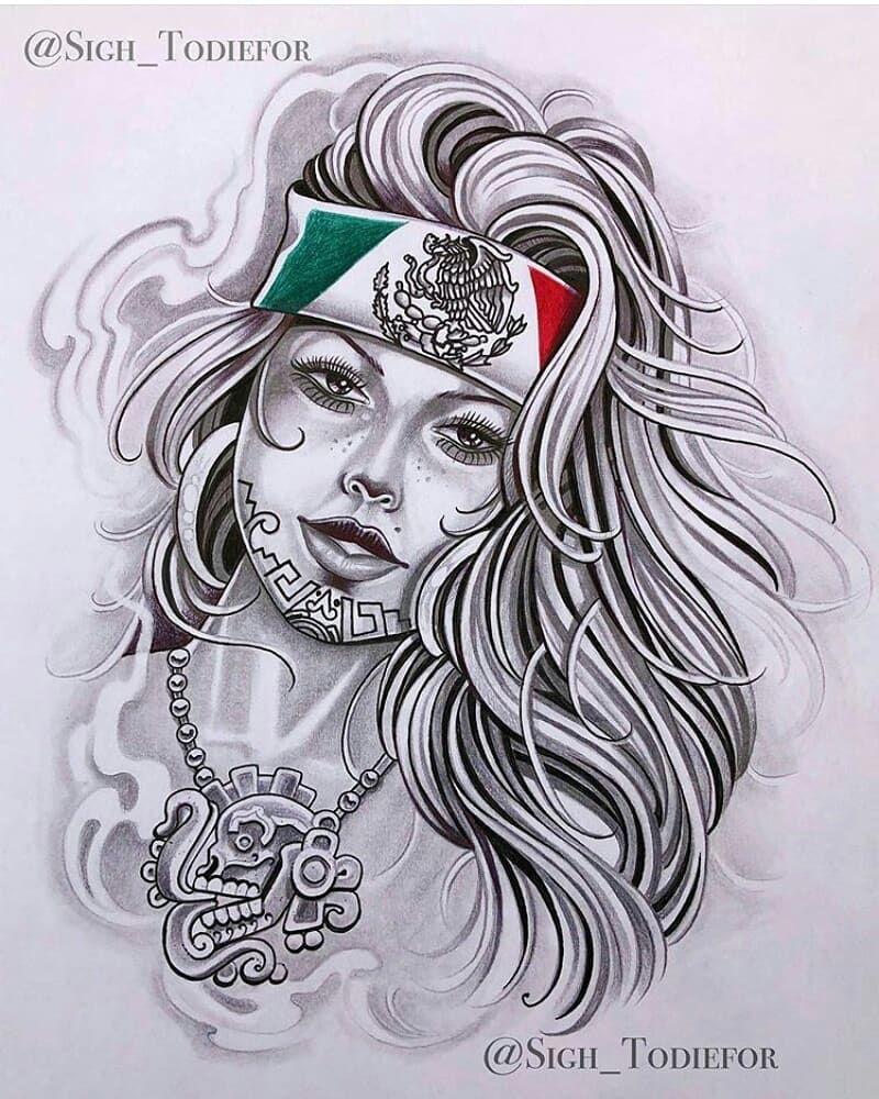 Gangster Chola Drawings : gangster, chola, drawings