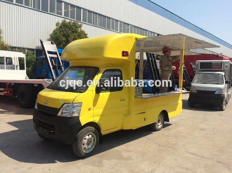 New Design Hot Sale Cheap Price Gasoline Type Mobile Fast Food Truck For