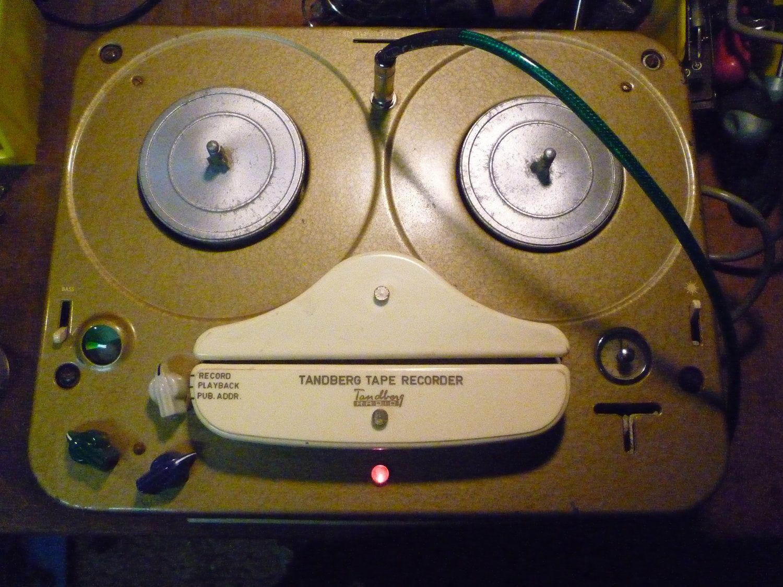 Tandberg Reel To Reel Tape Recorder Furby Vintage Tape Recorder