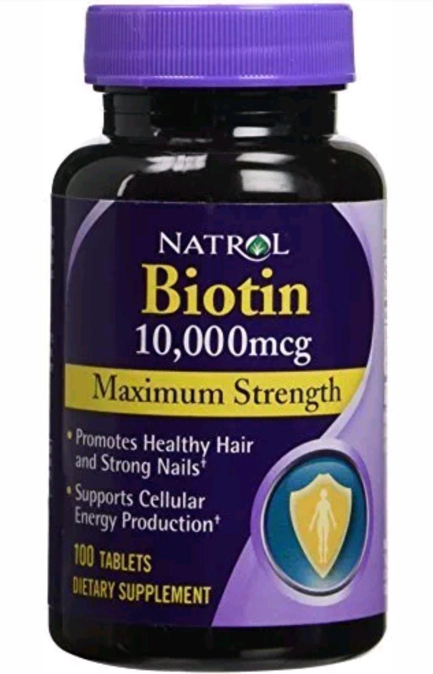 Natrol Vitamins Supplements Health Beauty Biotin Hair
