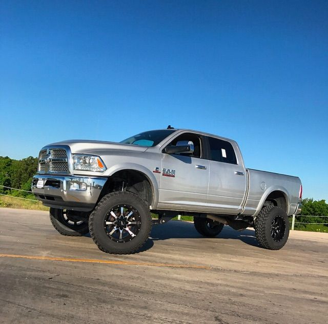 """Dodge 2016 Trucks: Hello 6 Inches...2016 Ram 2500 6"""" Zone Offroad Products"""