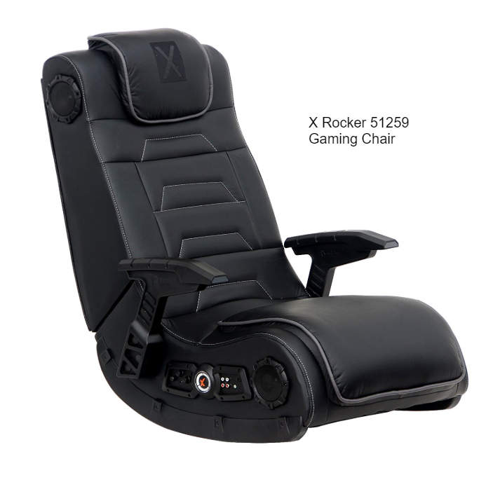 X Rocker 51259 Gaming Chair. Gaming chair, Rocker, Tech