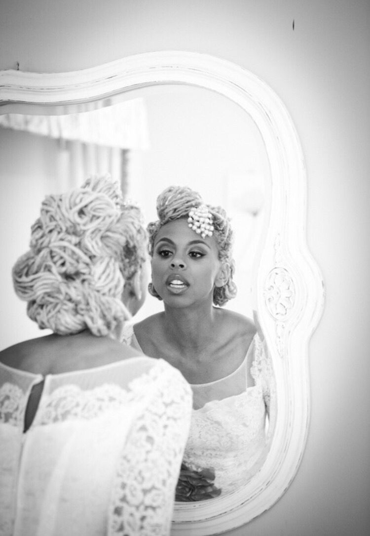White haired bride | Wedding/Engagement/Showers | Pinterest | Showers