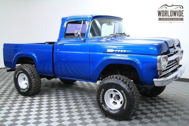 1960 Ford F100 With Images Ford Truck Models Classic Ford Trucks
